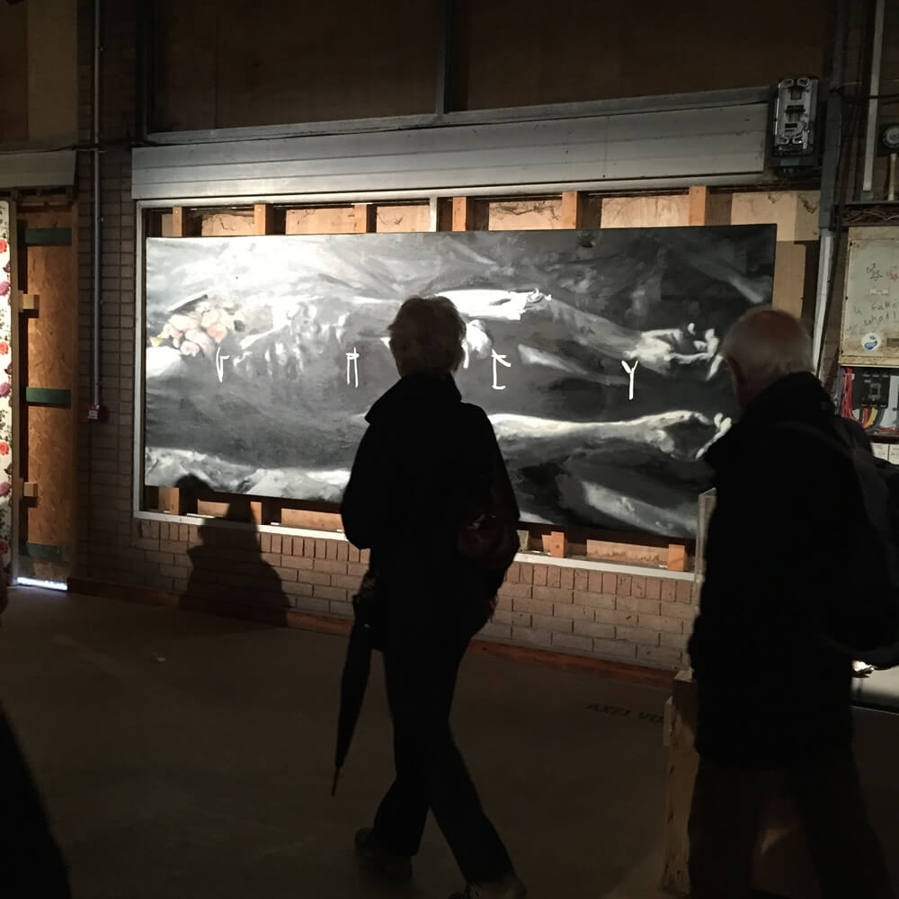 AXEL VOID アート作品 Dismaland、The Galleriesから