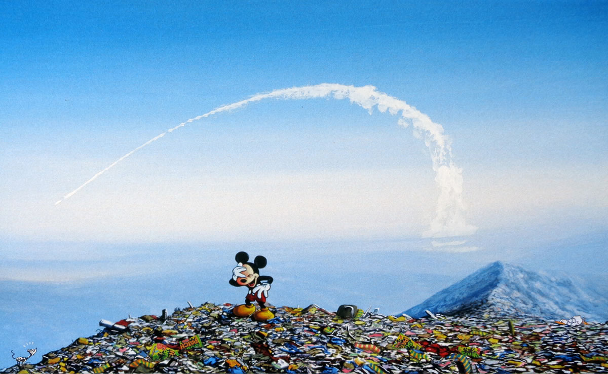 #3『Rat and Missile』 ジェフ・ジレット -Laughing Mickey Landfill