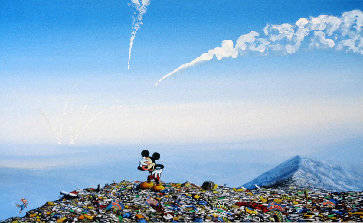 #8『Bouncing Mouse』ジェフ・ジレット -Laughing Mickey Landfill