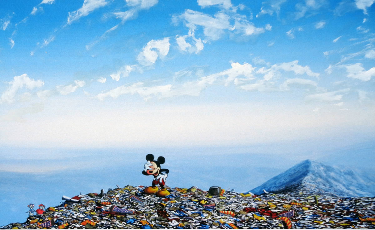 #14『Dressed Rodents』 ジェフ・ジレット -Laughing Mickey Landfill