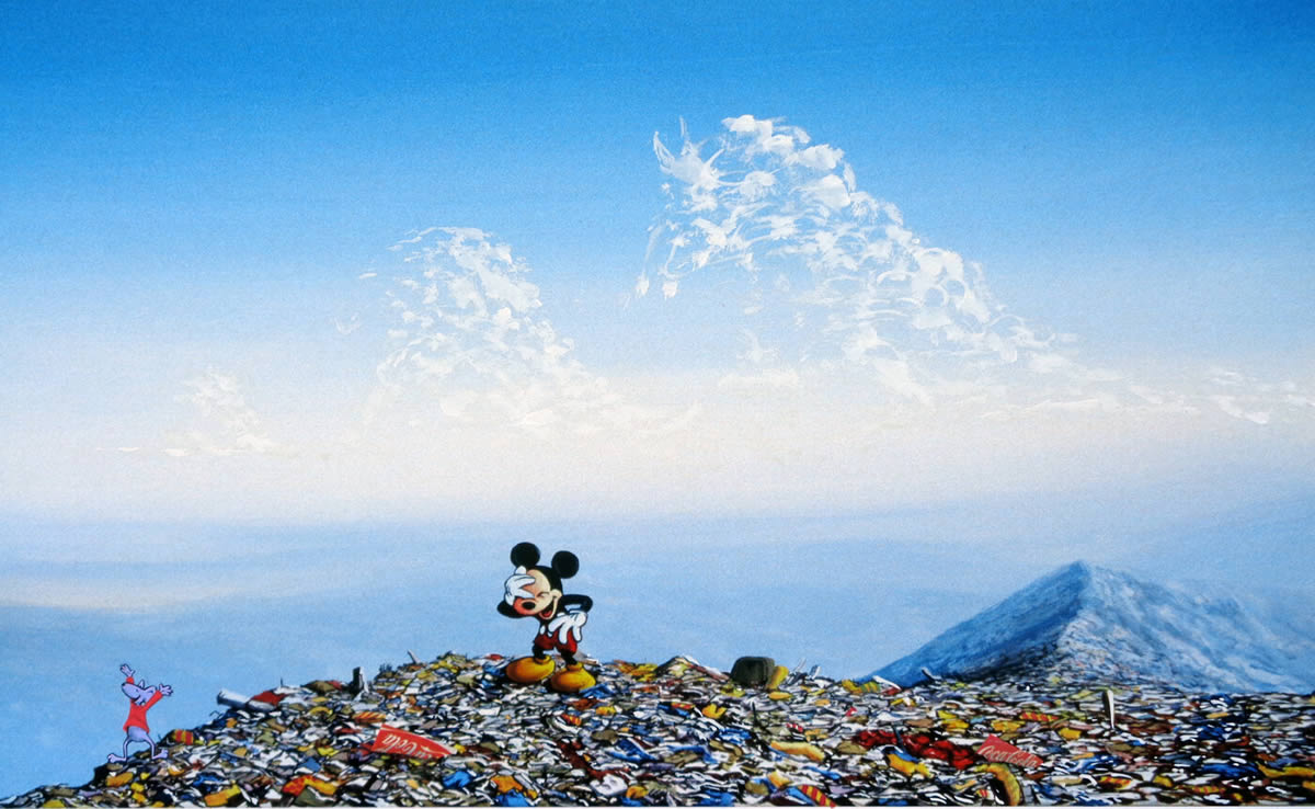 #28『Mouse with Red Shirt』 ジェフ・ジレット -Laughing Mickey Landfill