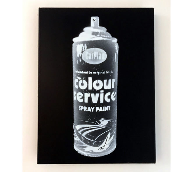 ニック・ウォーカー(Nick Walker): Cans 1/1 Canvas