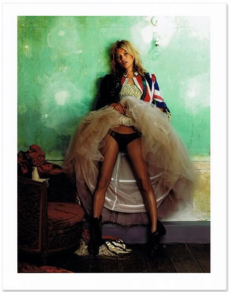 Mario Testino「Kate Moss Vogue Magazine UK Oct 2008」 (売切れました)
