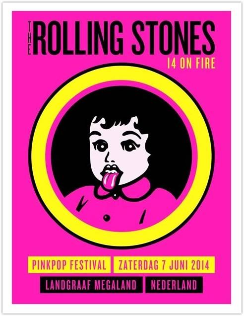 Royal Hue Studio「THE ROLLING STONES NEDERLAND2014」