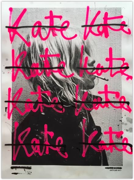 Steve Smythe「UNTITLED KATE MOSS(Kate)1/1」