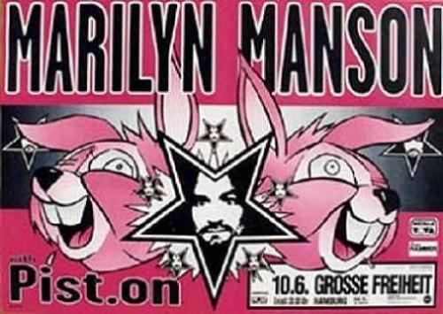 MARILYN MANSON German Tour 1997